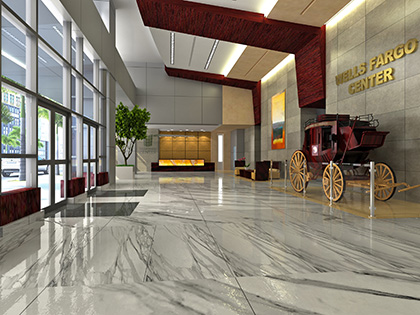 Wells Fargo Center Lobby